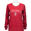 Image for Antigua Women's Wisconsin Crewneck (Red)