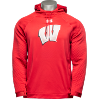 Image For Under Armour Quilted Motion W Sweatshirt (Red) *