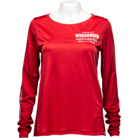 Cover Image For Under Armour Women's Latitude/Longitude Long Sleeve (Red)