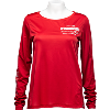 Image for Under Armour Women's Latitude/Longitude Long Sleeve (Red)