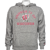 Image for League University of Wisconsin Sweatshirt (Gray)