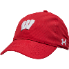 Image for Under Armour Women's Wisconsin Motion W Hat (Red)