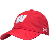 Image for Under Armour Wisconsin Motion W Adjustable Hat (Red)
