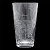 Image for Well Told Pint Glass Madison Map