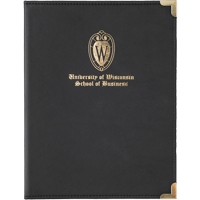 Cover Image For Samsill UW School of Business Notepad Holder (Black)