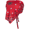 Image for ZooZatz Women's Tie Back Motion W Bandana (Red)
