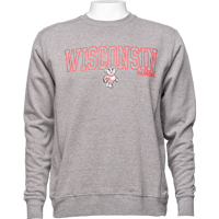 Cover Image For Alta Gracia Wisconsin Crewneck (Gray)