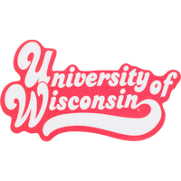 Cover Image For Blue 84 University of Wisconsin Decal