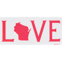 Image For Blue 84 L(O)VE State Decal