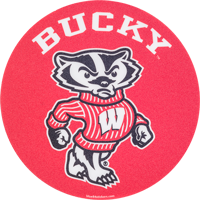 Cover Image For Blue 84 Bucky Badger Decal