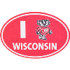 Cover Image for Blue 84 Diamond Madison Wisconsin Decal