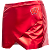 Image for ZooZatz Women's Metallic Motion W Skort (Red)