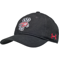Image For Under Armour Youth Bucky Badger Adjustable Hat (Black)