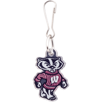 Cover Image For WinCraft Bucky Badger Zipper Pull