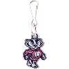 Image for Stockdale Bucky Badger Zipper Pull