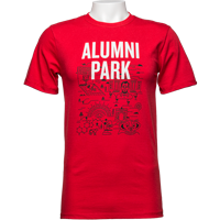 Cover Image For Alta Gracia Alumni Park Tee (Red)
