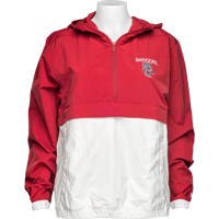 Image For Under Armour Women's Badger Zipper Rain Jacket (Red/White) *