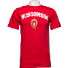 Image for Alta Gracia Wisconsin Shield Tee (Red)
