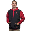 Image for Under Armour Motion W Clasp Rain Jacket (Black/Red)