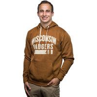 Cover Image For League Wisconsin Badgers 48 Sweatshirt (Brown)