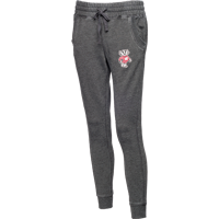 Image For Boxercraft Women's Bucky Badger Joggers (Gray)