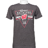 Image for Alta Gracia Wisconsin Badgers T-Shirt (Gray)