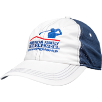 Cover Image For Ahead AmFam Mesh Adjustable Hat (White/Navy)