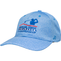 Image For Ahead AmFam University Ridge Adjustable Hat (Blue)
