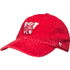 Image for '47 Brand Youth Wisconsin Adjustable Hat (Red)
