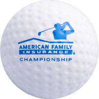 Cover Image For Jardine Stress Reliever AmFam Golf Ball (White)
