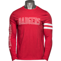 Image For Under Armour WI Badgers 150 Year Commemorative Long Sleeve*