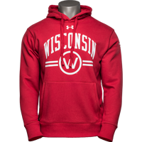 Cover Image For Under Armour WI Badgers 150 Year Commemorative Hoodie Red 3X