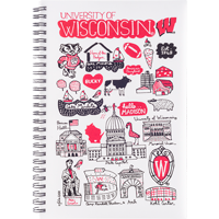 Image For Neil Enterprises, Inc. Wisconsin Notebook By Julia Gash