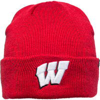 Image For '47 Brand Wisconsin Cuffed Beanie (Red)