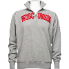 Cover Image for '47 Brand Wisconsin ¼ Zip Sweatshirt (Gray) *