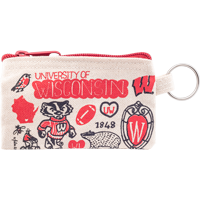 Image For Neil Enterprises, Inc. University of Wisconsin Coin Pouch