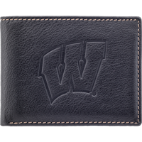 Image For Carolina Sewn Leather Motion W Billfold Wallet (Black)