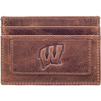 Image For Carolina Sewn Westbridge Leather Motion W Card Holder (Tan)