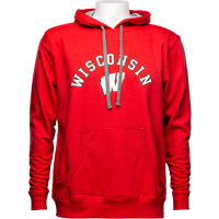 Cover Image For Alta Gracia Wisconsin Hooded Sweatshirt (Red)