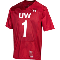 Image For Under Armour UW Commemorative 150 Year Jersey (Red)*