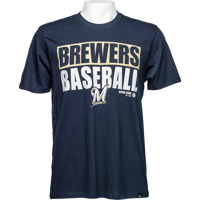 Cover Image For '47 Brand Brewers Baseball T-Shirt