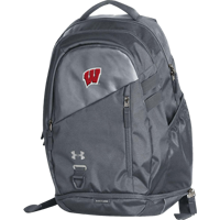 Image For Under Armour Hustle 4.0 Backpack (Gray)