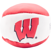 Image For Jenkins Enterprises Wisconsin Hacky Sack (Red/White)