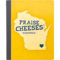 Image For Barcharts, Inc. Praise Cheeses! Wisconsin Notebook