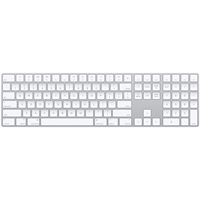 Image For Apple Magic Keyboard with Numeric Keypad - Silver