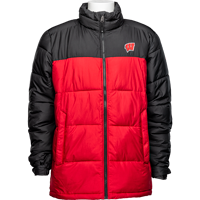 Cover Image For Columbia Wisconsin Pike Lake Jacket (Red/Black)