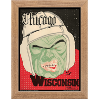 Image For Asgard Press Framed Wisconsin Print (11-10-1928)