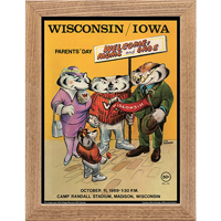 Image For Asgard Press Framed Wisconsin Print (10-11-1969)
