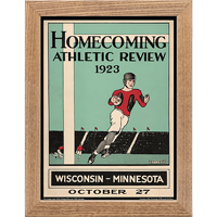 Image For Asgard Press Framed Wisconsin Print (10-27-1923)