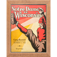 Cover Image For Asgard Press Framed Wisconsin Print (10-6-1928)